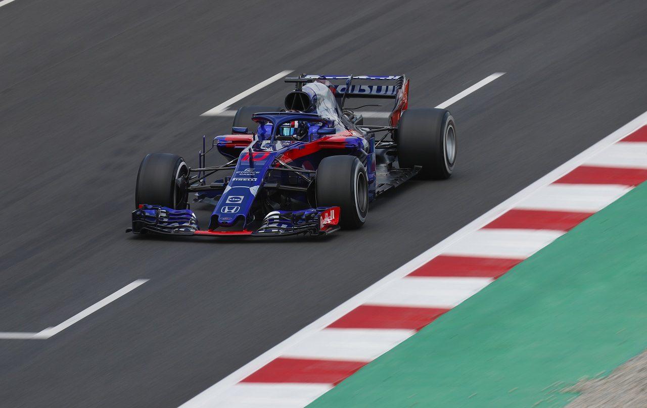 2018年F1バルセロナ・インシーズンテスト ピエール・ガスリー(トロロッソ・ホンダ)