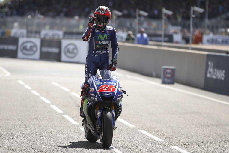 2017MotoGP第5戦フランスGP 優勝したマーベリック・ビニャーレス