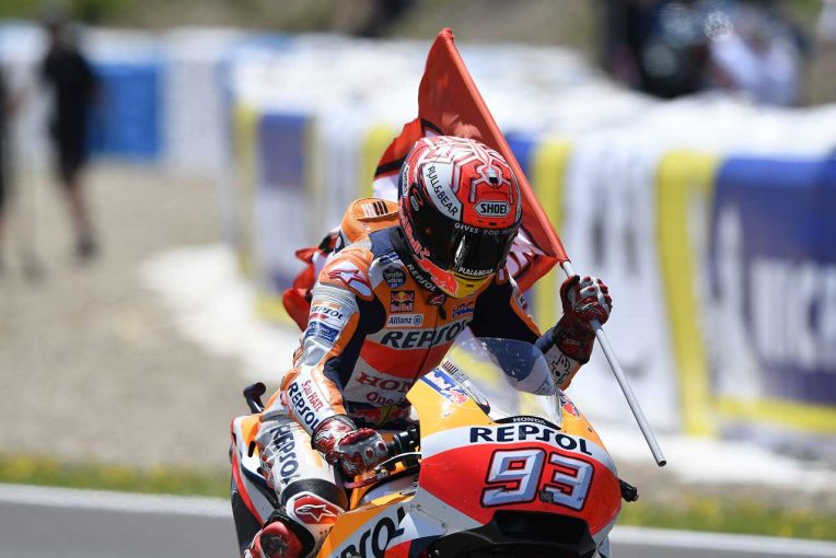 MotoGP   MotoGP:2連勝のマルケス、ル・マンはペースをつかむのに「苦労したことがある」