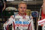スーパーGT第2戦富士で2位表彰台を獲得したヘイキ・コバライネン(DENSO KOBELCO SARD LC500)