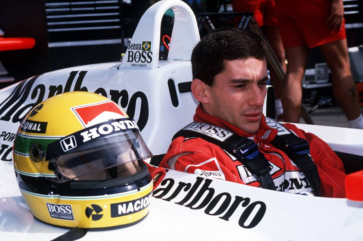 1988年F1アメリカGP マクラーレン・ホンダ アイルトン・セナ