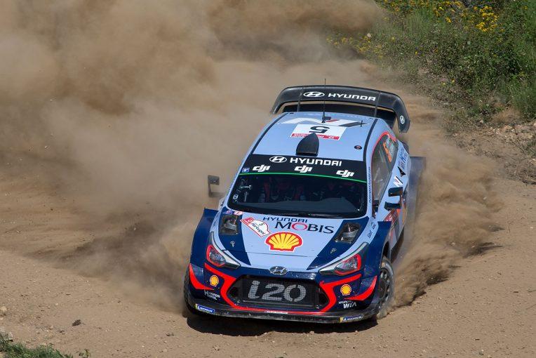 ラリー/WRC | WRCポルトガル:アクシデント多発! 波乱づくしの2日目はヒュンダイが首位浮上