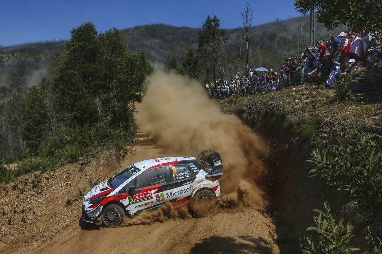 ラリー/WRC   WRC:トヨタ、2日目にまさかの2台脱落。リタイアのタナク「避け切れなかった」