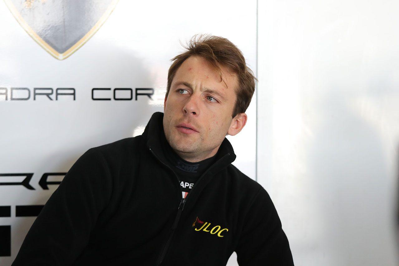 スーパーGT:ランボルギーニ使いのマッペリ「ウエットで岡山を走るのはQ2が初めてだった」/GT300ポール会見