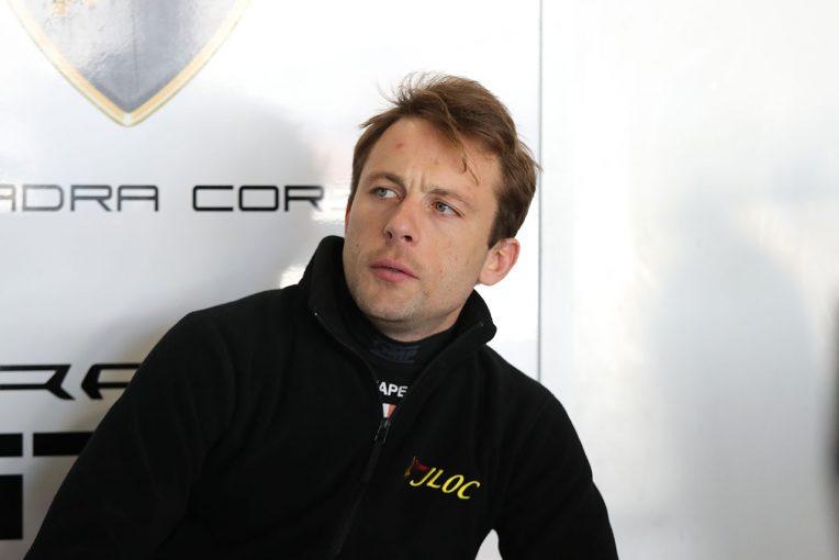 ランボルギーニワークスドライバーで今年からスーパーGTに参戦しているマルコ・マペッリ