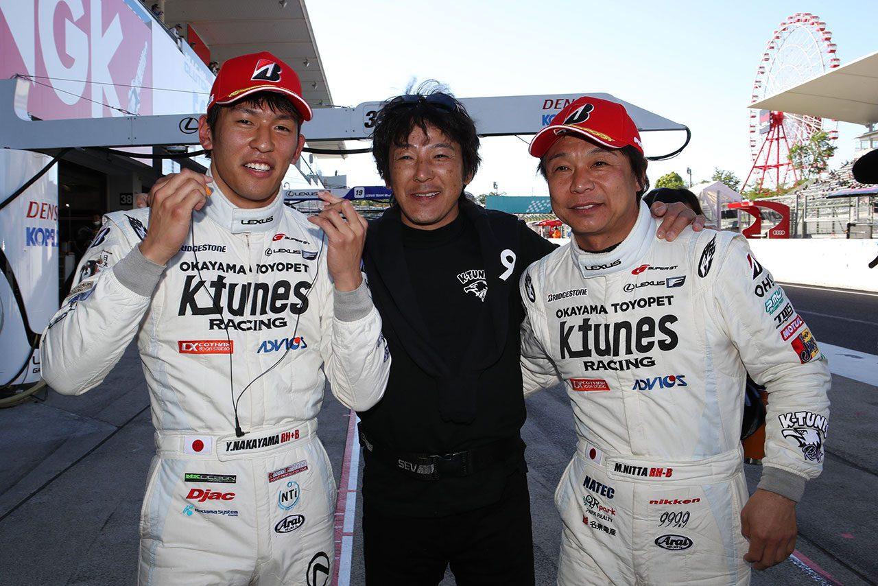 スーパーGT:中山雄一「影山監督からは『1コーナーでOBしないように』と言われた」/GT300ポール会見