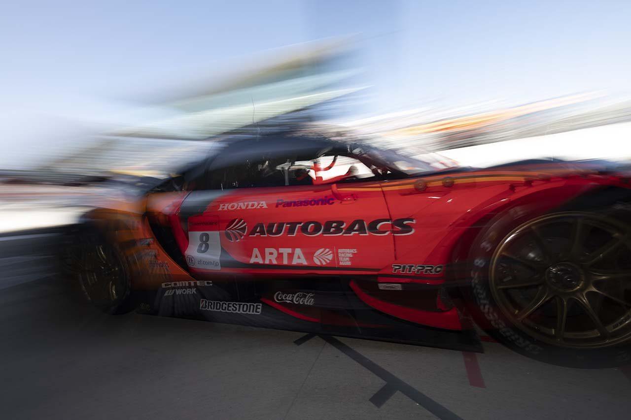 ARTA NSX-GT スーパーGT第3戦鈴鹿 予選レポート