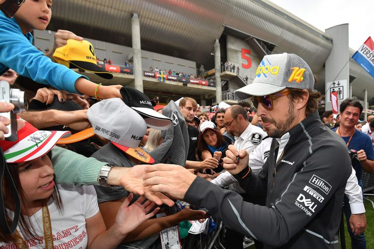 F1 | アロンソF1密着 スペインGP編:アップデートは効果アリ、地元での予選Q3進出に上機嫌