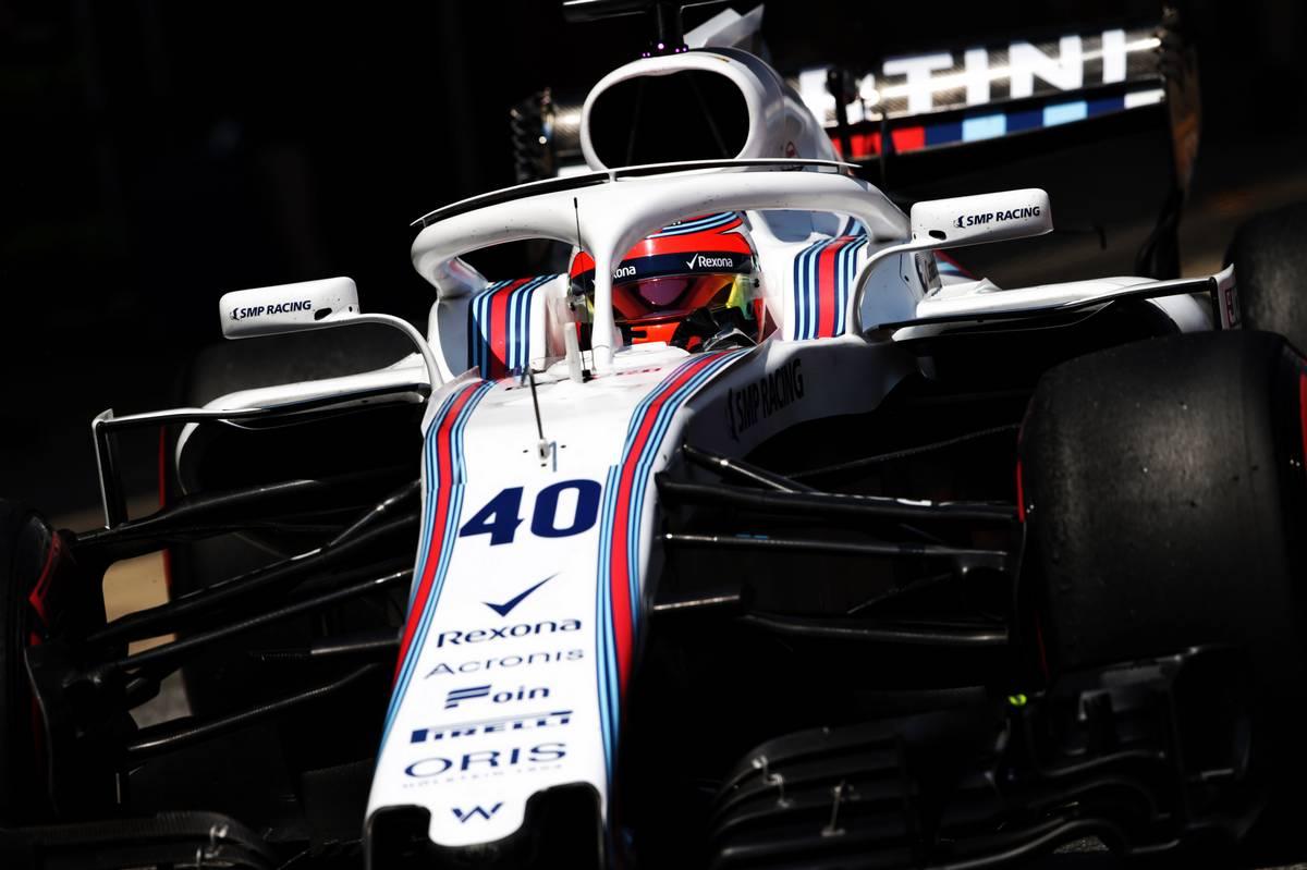 2018年F1バルセロナインシーズンテスト  ロバート・クビカ ウイリアムズ サードドライバー