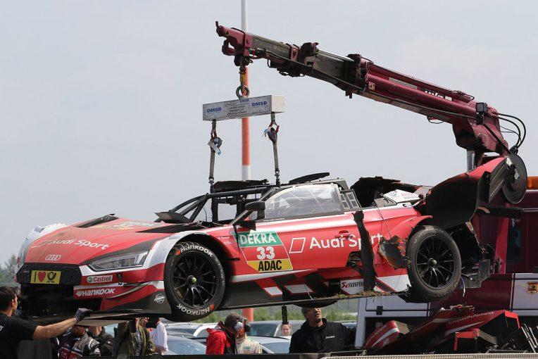 海外レース他 | DTM:大クラッシュ演じたレネ・ラスト、レントゲン検査で異常なしもレース2欠場