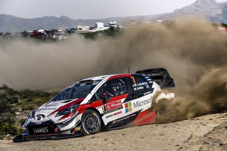 ラリー/WRC | WRC:トヨタ、戦列復帰のラトバラが2SSで最速マーク。マキネン「パワーステージも狙える」