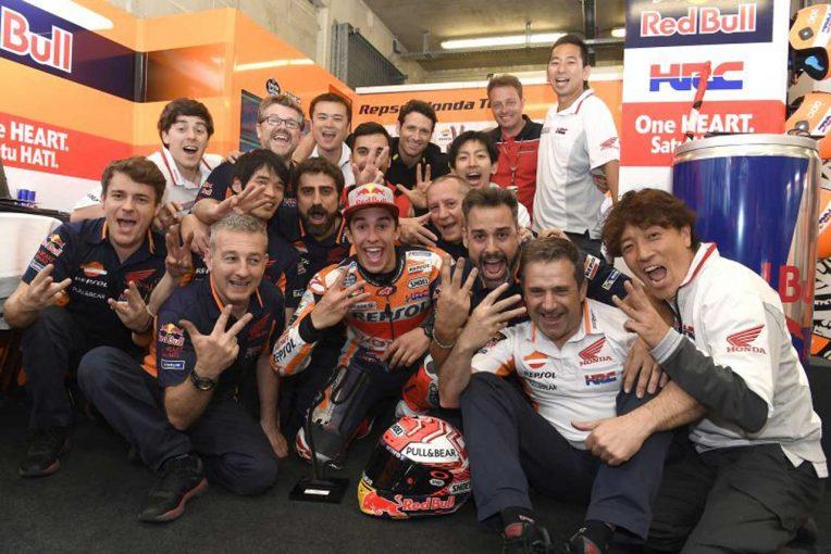 MotoGP | MotoGP:マルケス、いつも苦戦するル・マンで「勝つことができハッピー」/フランスGP決勝トップ3コメント