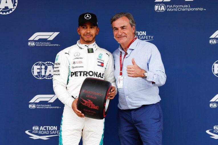 F1 | 【あなたは何しに?】サインツSr.がスペインGP予選後のパルクフェルメに現れた訳とは