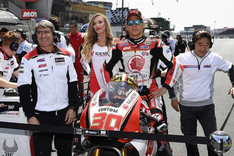 MotoGP   MotoGP:中上、忍耐のレースで4戦連続ポイント獲得。「クラッチローを抜ける」と思った瞬間も