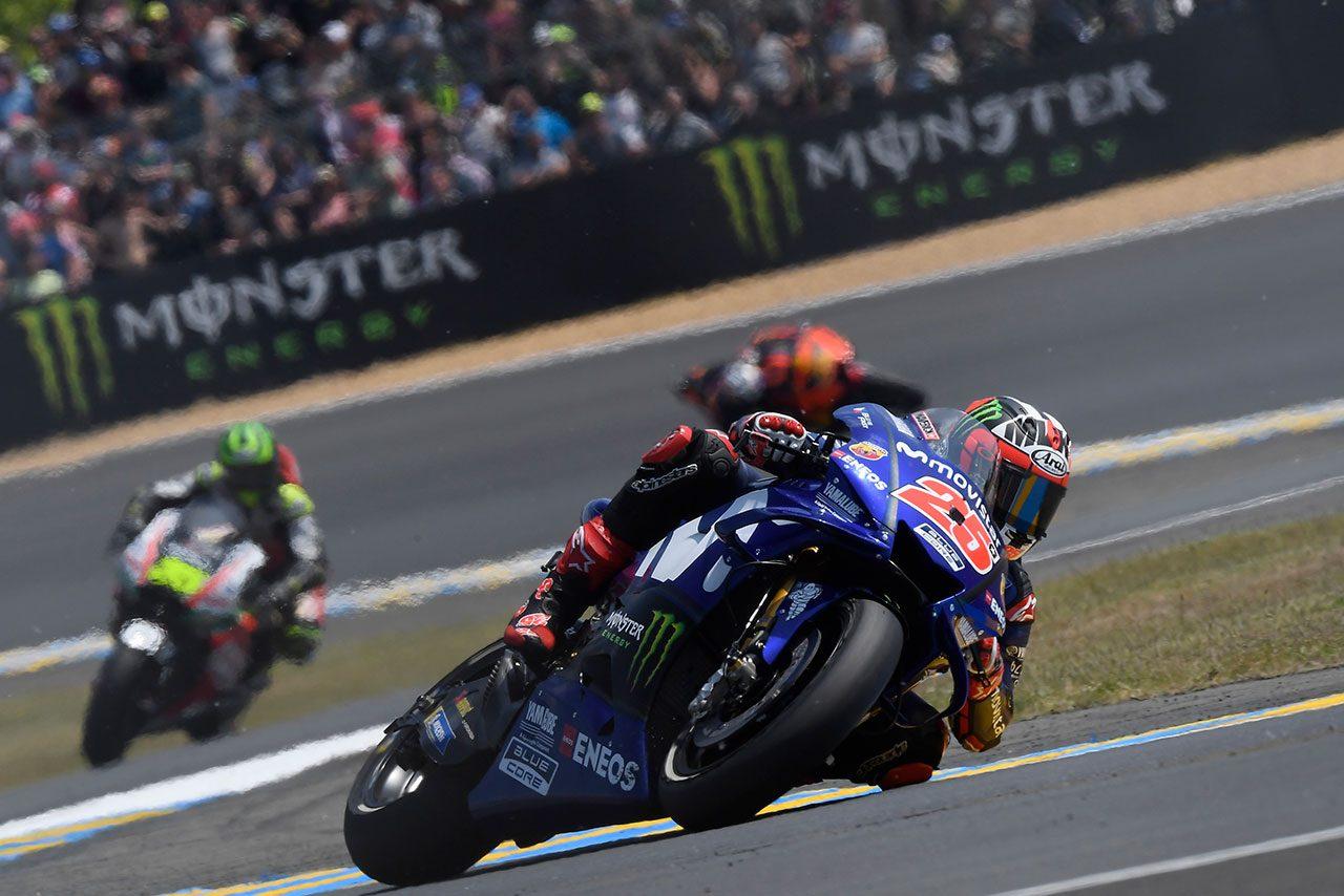 MotoGP:ロッシ、9番手からの表彰台獲得にも「ほかのサーキットで同じようにはいかない」と分析