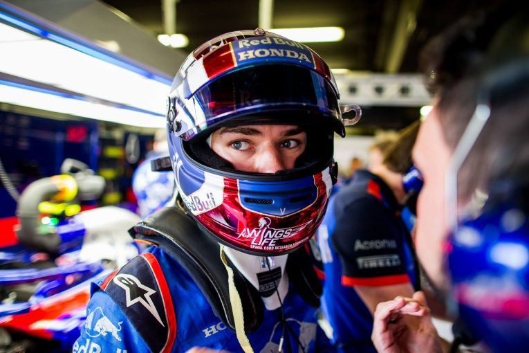 F1   トロロッソ・ホンダのガスリー「不運に見舞われ続けたモナコ。F1ではいい結果を出したい」