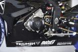 開発中のトライアンフMoto2エンジン
