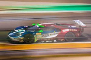 GTEプロクラス優勝を飾った66号車フォードGT