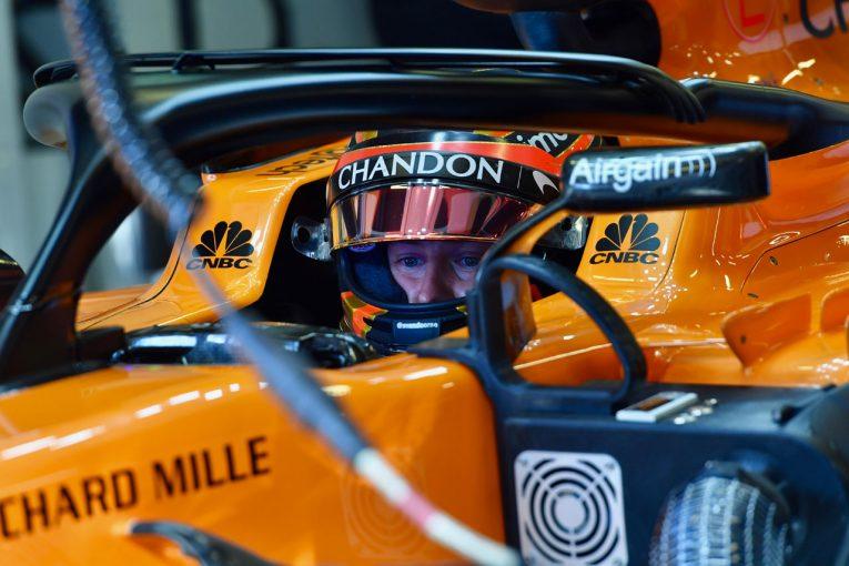 F1   マクラーレンのバンドーン「トラブルは対策済み。モナコでテストの成果を役立てる」