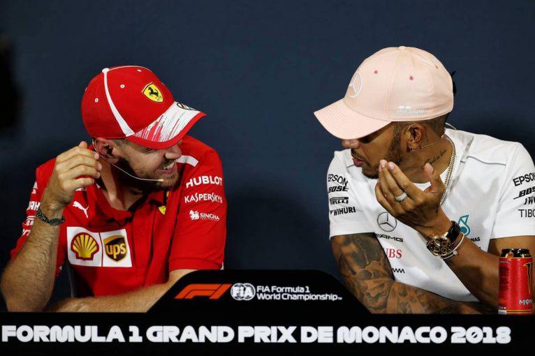 F1 | F1モナコGP水曜会見:追突事件から1年が経過し、ベッテルとハミルトンの関係も改善中