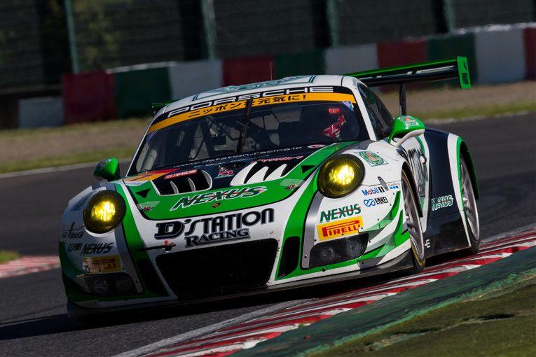 スーパーGT   鈴鹿10時間公式テスト:ドライの2日目はD'station Porscheがトップタイム