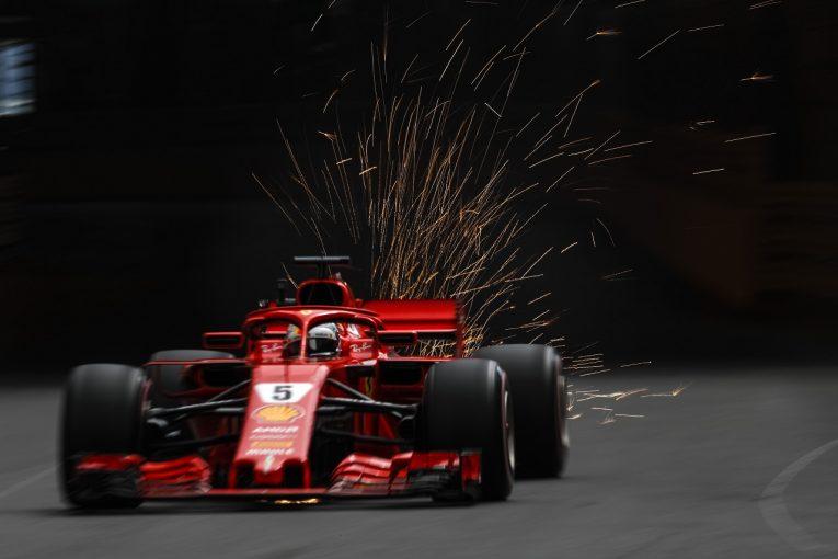 F1   ベッテル「マシンを信頼して走れた。クラッシュの心配はしなかったよ」フェラーリ F1モナコGP木曜