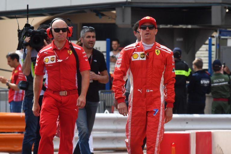 F1   ライコネン「レッドブルが予選でも最速だとは限らない」:フェラーリ F1モナコGP木曜