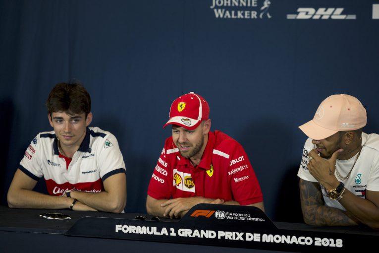 F1 | F1王者のベッテルとハミルトン、ザウバーF1で奮闘する新人ルクレールの才能を高評価