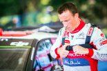 第7戦イタリア以降の参戦取りやめが決まったクリス・ミーク(シトロエンC3 WRC)