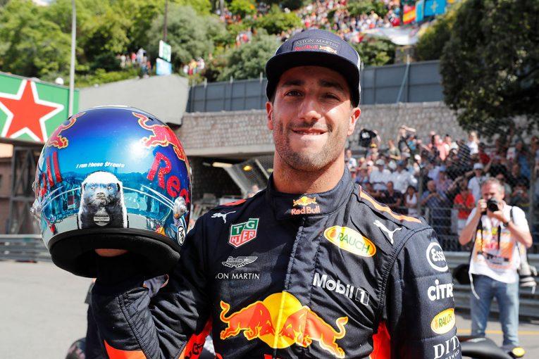 F1 | F1モナコGP予選:驚速リカルドが自身2度目のポールポジション、ガスリーも健闘のQ3進出