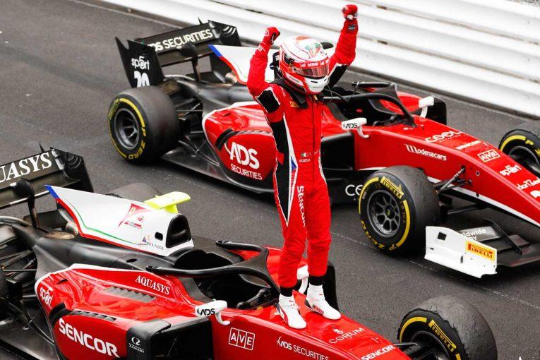 海外レース他 | FIA F2第4戦モナコ レース2:牧野と福住はリタイア。完走10台のサバイバルレースをフォコが制す