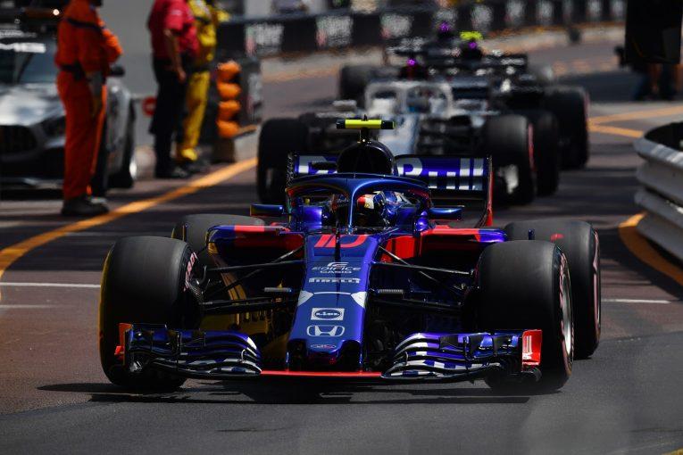 F1 | トロロッソ「予選6番手も可能だっただけに少し残念。決勝では大きな武器を生かして入賞を」:F1モナコGP土曜