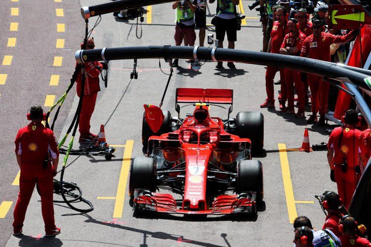 F1   ライコネン予選4番手「タイヤに苦労し、100パーセントの走りができなかった」:F1モナコGP土曜