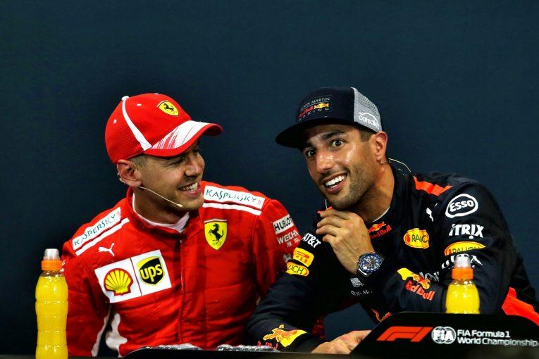 F1   ベッテル予選2番手「今日のリカルドには誰も太刀打ちできなかった」:F1モナコGP土曜
