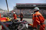 F1   クラッシュのフェルスタッペン、ギヤボックス交換でペナルティ「反省しなければならない。またミスを犯した」:F1モナコGP土曜