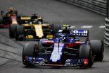 F1 | トロロッソ「ガスリーのタイヤマネジメント能力と的確な戦略によって7位をつかんだ」:トロロッソF1モナコGP日曜