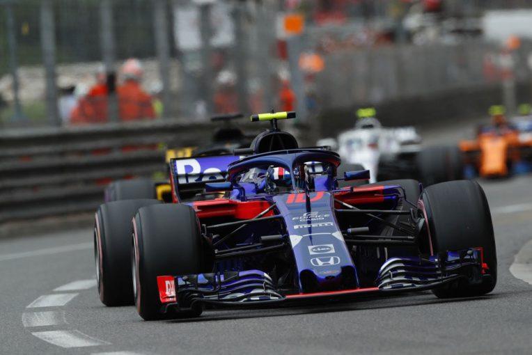 F1   トロロッソ・ホンダF1密着:抜きにくいモナコで功を奏したガスリーのタイヤ戦略