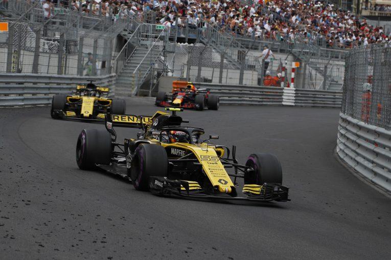 F1 | サインツJr.「戦略で失敗し、悲惨なレースに」:ルノー F1モナコGP日曜