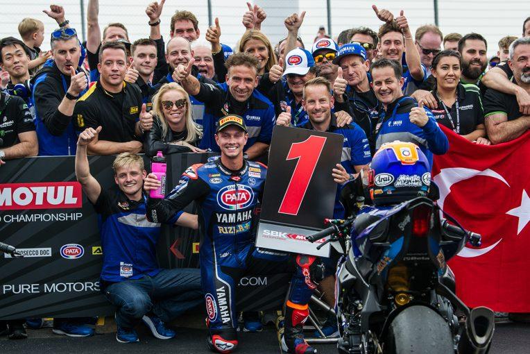 MotoGP | SBK第6戦レース2:ヤマハ完全制覇。ファン・デル・マークが初のダブルウイン達成