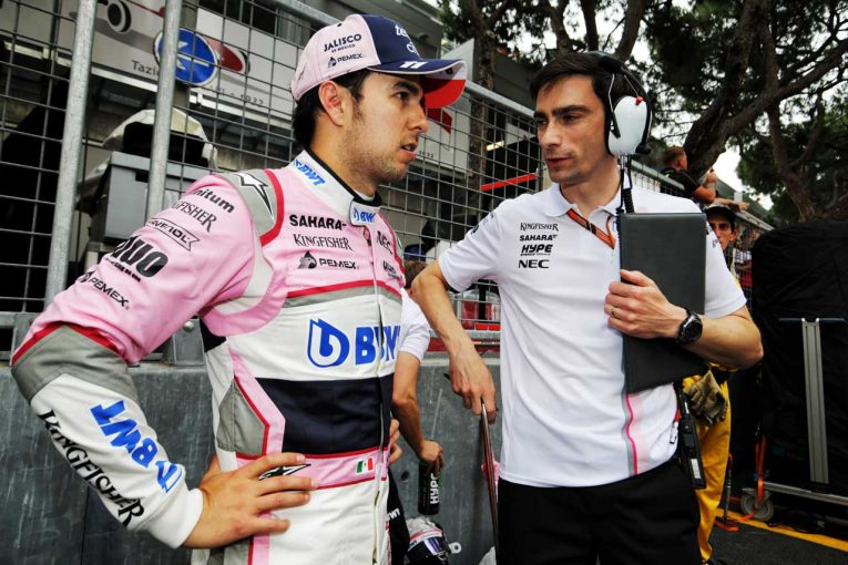 F1   ペレス「ピットストップのトラブルでレースが台無しに」/フォース・インディア F1モナコGP日曜
