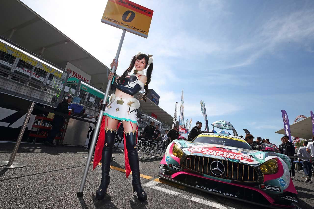 GOODSMILE RACING&TeamUKYO スーパーGT第3戦鈴鹿 レースレポート