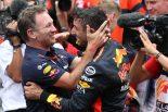 F1 | 手負いのマシンでモナコGPを制したリカルドを、レッドブルF1代表のホーナーが絶賛