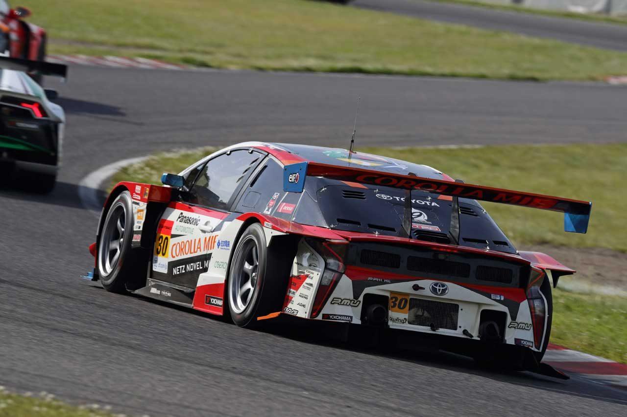 30号車TOYOTA PRIUS apr GT スーパーGT第3戦鈴鹿 レースレポート