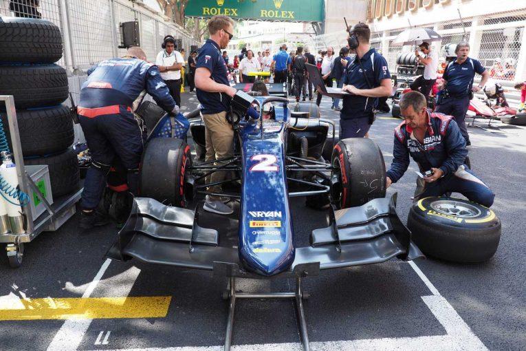 海外レース他 | 原因不明のスピード不足に悩む福住。牧野はクラッシュでチャンスを失う/FIA F2第4戦モナコ