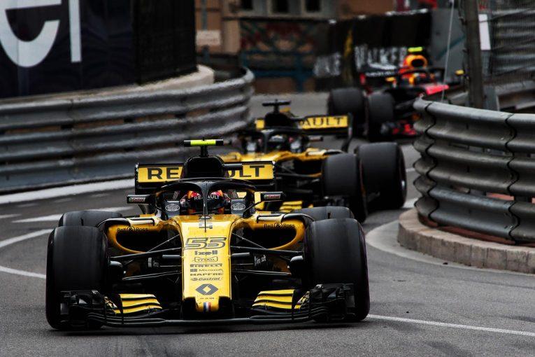 F1 | ルノーF1、モナコでダブル入賞も「タイヤへの理解をさらに深めることが必要」