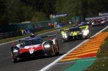 トヨタTS050ハイブリッドとバイコレス・レーシング・チームのENSO CLM P1/01・ニスモ