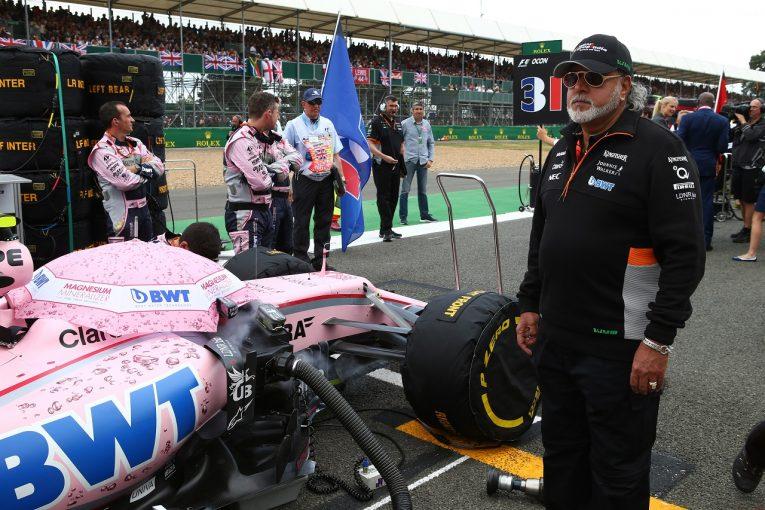 F1 | 訴訟問題抱えるビジェイ・マリヤ、フォース・インディアの取締役を退任