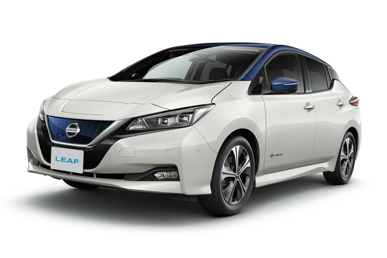 ニッサン、リーフの国内10万台販売を記念し、充実装備の特別仕様車発売