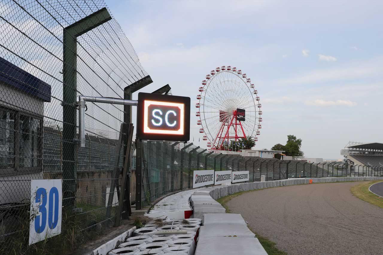 鈴鹿サーキット、F1やル・マンと同規格のライトパネルを日本初導入