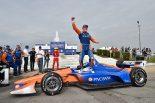 海外レース他 | インディ第7戦:ディクソンがシーズン初勝利を挙げホンダ勢がデトロイトを席巻。琢磨も上位入賞